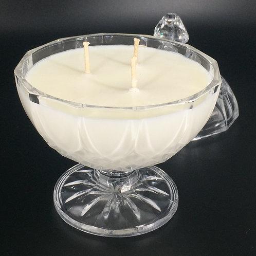 Bougie Sucrier 200 ml Fleur de coton