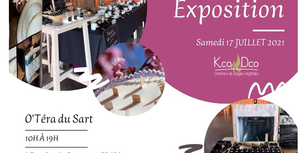 💚 Exposition Bougies végétales O'Téra du Sart 💚
