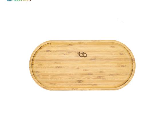 Oval Bamboo Platter