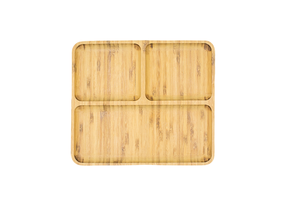Three Section Platter