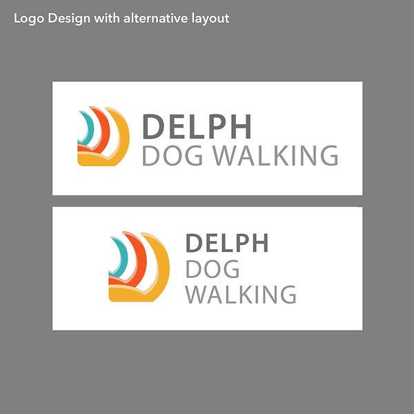 Delph Dog Walking Logo