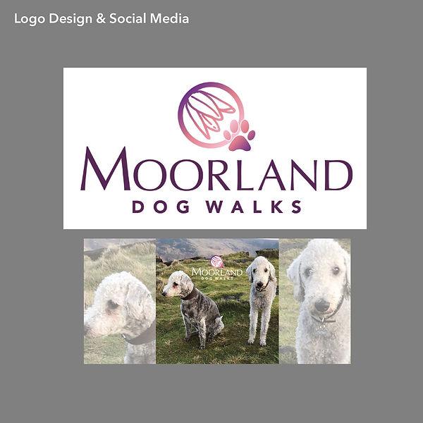 Moorland Dog Walks Logo