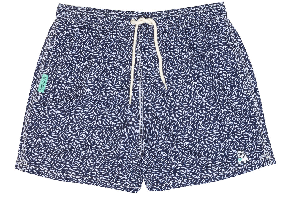 Bañador bermuda de hombre Kiff Kiff azul