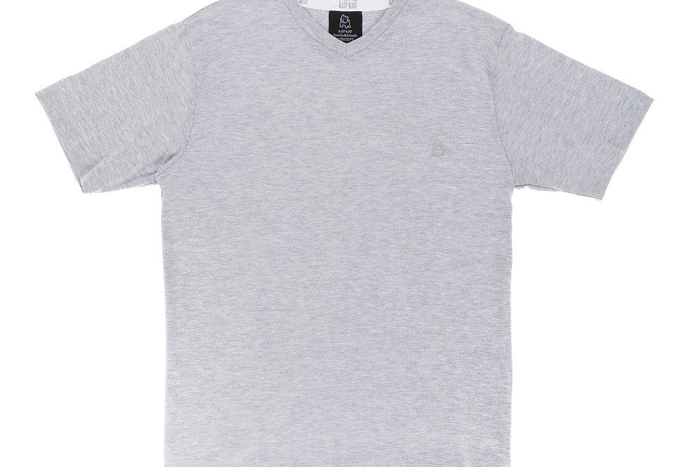 Camiseta de pijama de hombre Kiff Kiff gris