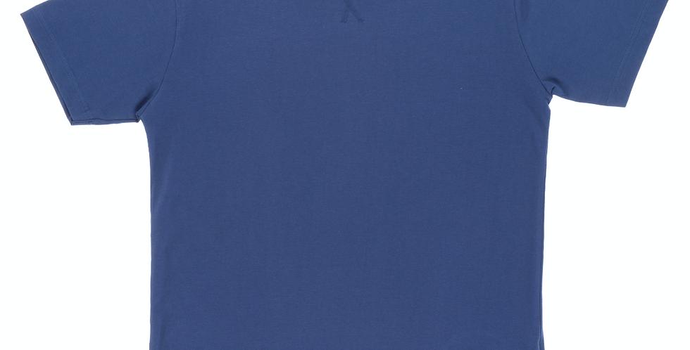 Camiseta de pijama de hombre Kiff Kiff celeste