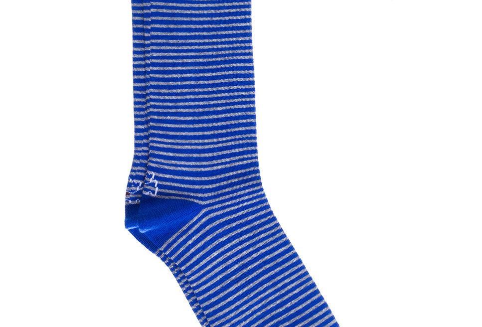 Calcetines caña corta de hombre Kiff Kiff azulon