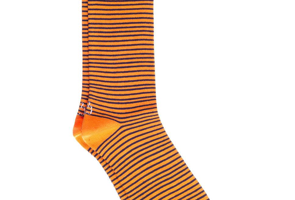 Calcetines caña corta de hombre Kiff Kiff naranja