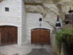 Entrée de la cave du Domaine Hérault
