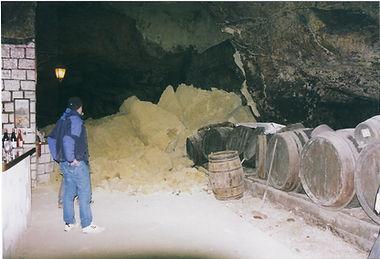 effondrement de la cave du Domaine Hérault en 2003