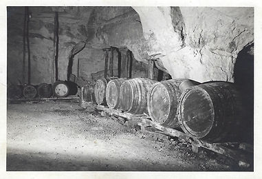 la cave du Domaine Hérault à ses débuts