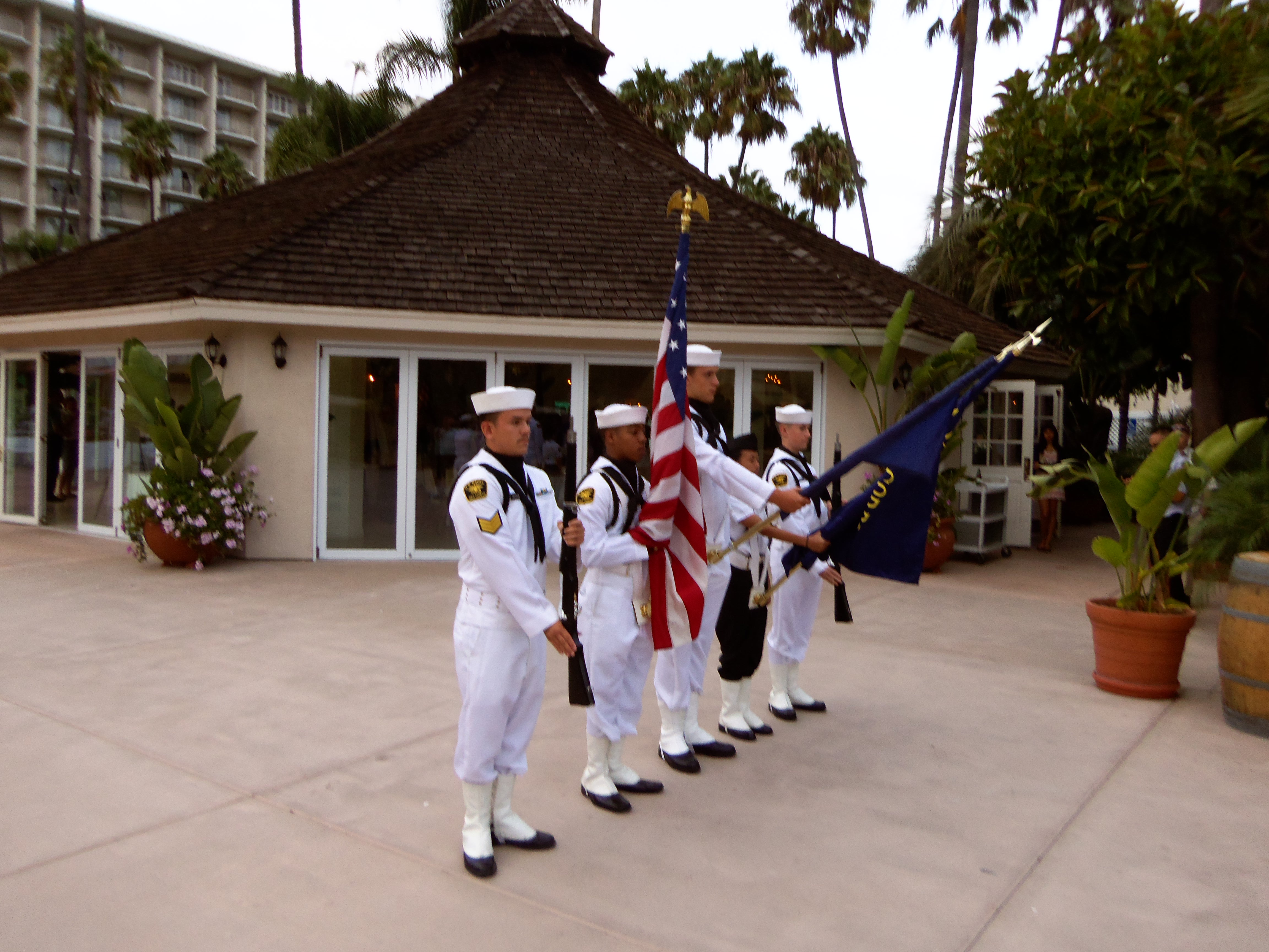 2013-09-20 BANQUET-HONOR GUARD(GARIDEL149