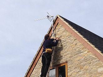 tv aerial engineer Swansea
