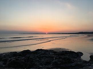Sunset near Port Talbot