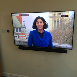 TV wall mounting in Caerphilly | Great value installations | Contact Dan at Multipoint Aerials