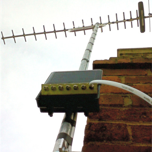 TV aerial professionally installed in Swansea