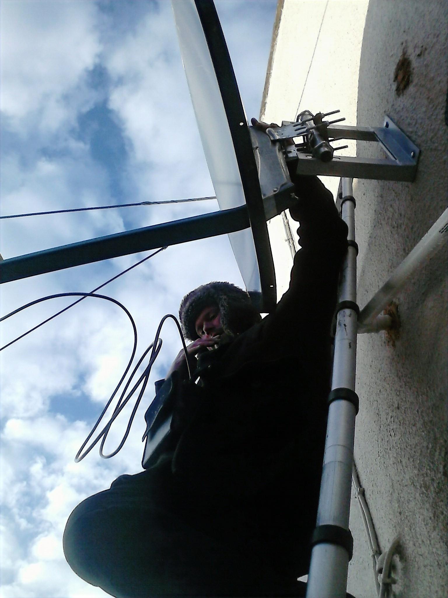 Satellite Dish Installation & Repair