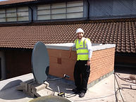 Satellite dish installation Gowerton