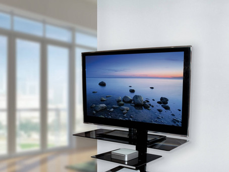 TV wall mounting, installation & setup in Cardiff