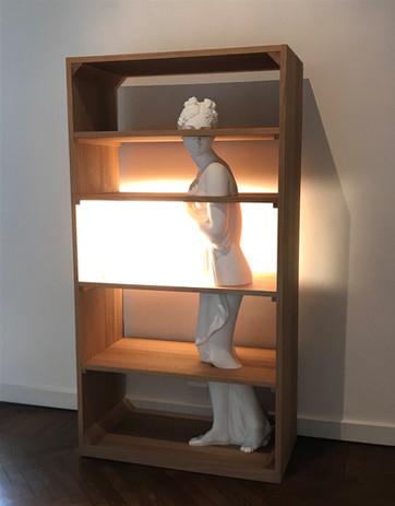 Driade libreria statua