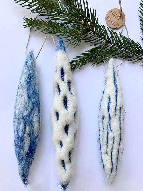 """""""Icicles"""" - Set of 3"""
