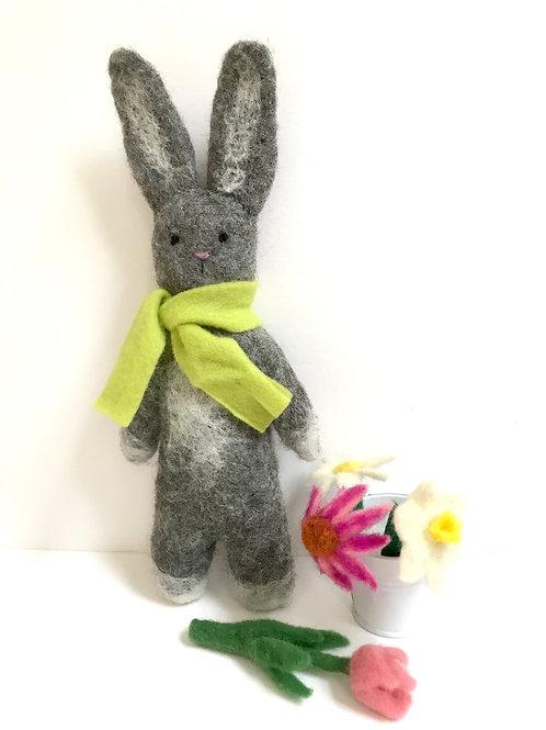 Easter Bunny - gray