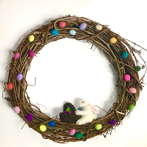 """Easter Egg Hunt"" Wreath"