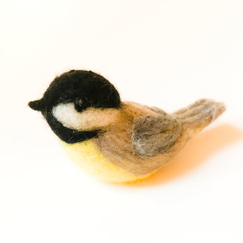 Corporate Gifts: Maine Black Capped Chickadee Ornament