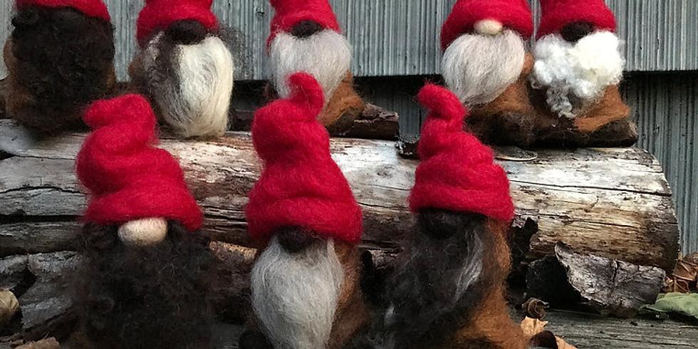 "Needle Felting Class ""Gnomes"""