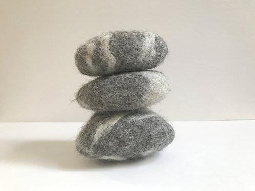 Meditation Rocks - Set of 3