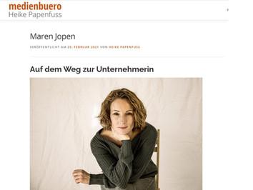 Maren Jopen im Interview: Auf dem Weg zur Unternehmerin