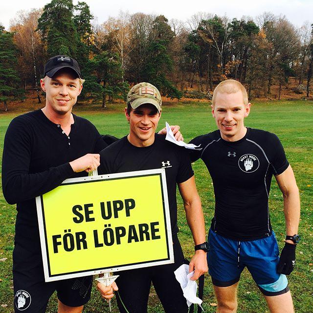 I morse deltog några ur teamet i _parkrunse #parkrunsweden