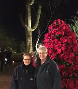 Jane and I, Christmas 2016