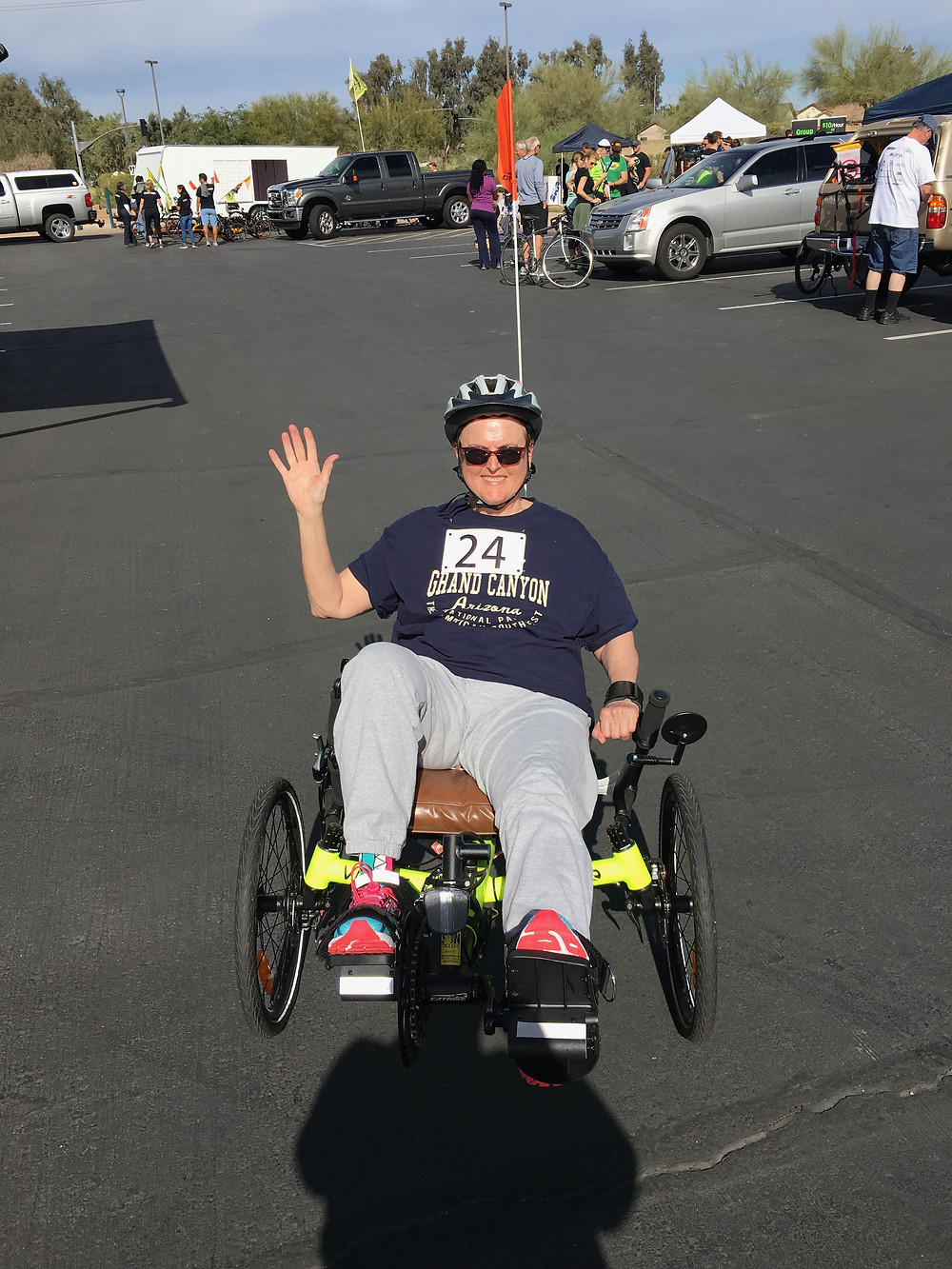 Here I am at the Recumbent Tryke Event in 2017!