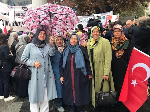 İlkder olarak Diyarbakırlı annelere Kızılayda yapılan basın açıklamasına destek verdik