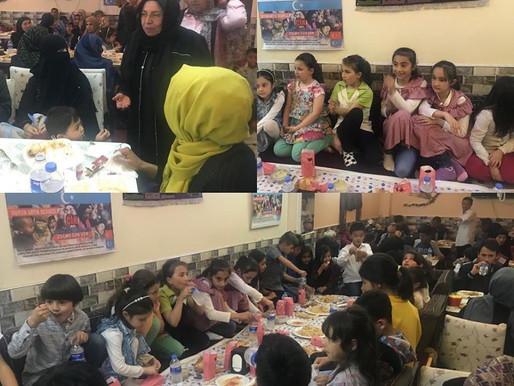İLKDER'in 3. Mülteci iftarını, uygur kardeşlerimizle gerçekleştirdik