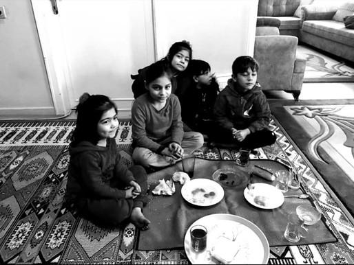 Türk ve Mülteci ailelerimize 2020 Yılı ilk ziyaretimizi gerçekleştirdik.