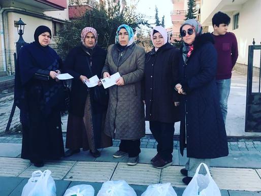 Farklı ülkelerden Ankaraya gelen mülteci aillerimizin şubat ayı ziyaretlerini gerçekleştirdik.