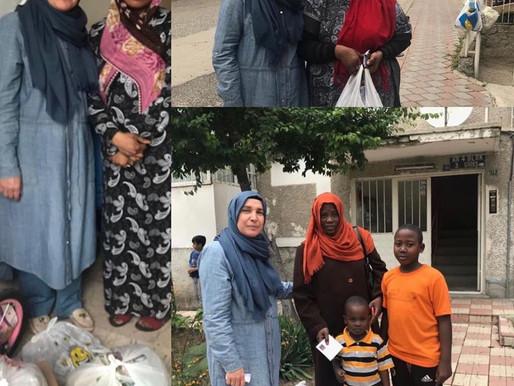 İLKDER ailesi olarak  iftar sofralarımızı ülkemizdeki mülteci kardeşlerimizle paylaştık
