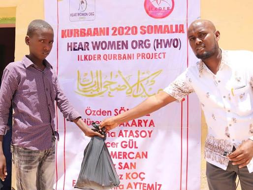 Kurban paylaşmaktır .. İLKDER olarak SOMALİ de siz hayırseverlerin katkılarıyla kurbanlarımız kesild