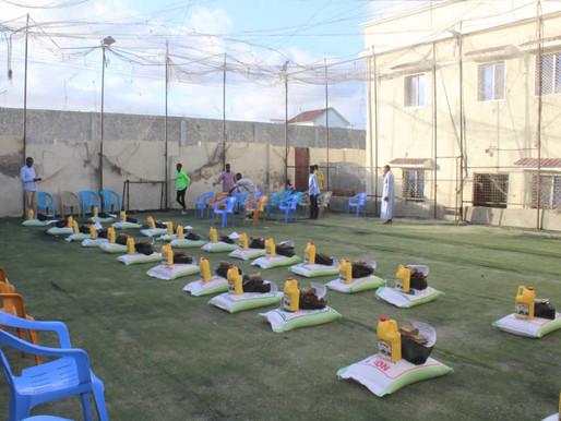 Yurtdışı  Ramazan yardımlarımızın ve iftarlarımızın birini de Kadir Gecesi Somali'de gerçekleştirdik