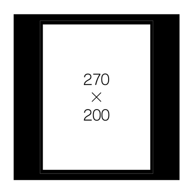 4切角(黒)