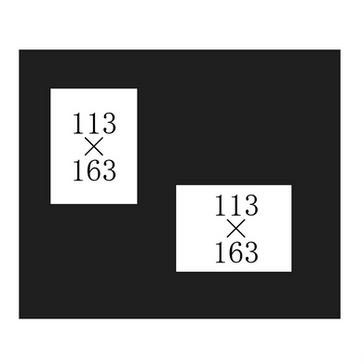 Cタイプ黒(キャビネB-縦横)