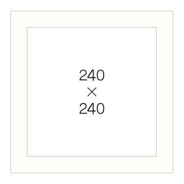 240角(白)