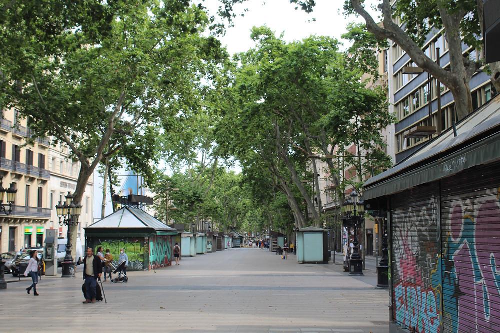 Las Ramblas, Barcelona (Carla Stavraky)