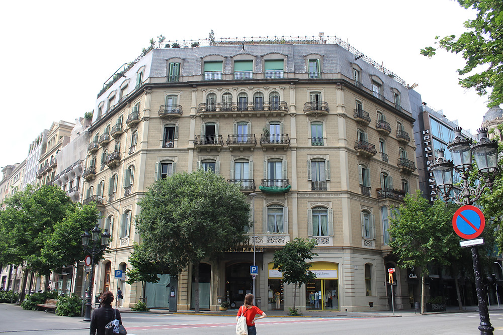 Hotel Continental Palacete, Rambla de Catalunya (Carla Stavraky)