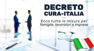 """El govern italià va aprovar el 17 de març el decret """"Cura Itàlia""""."""