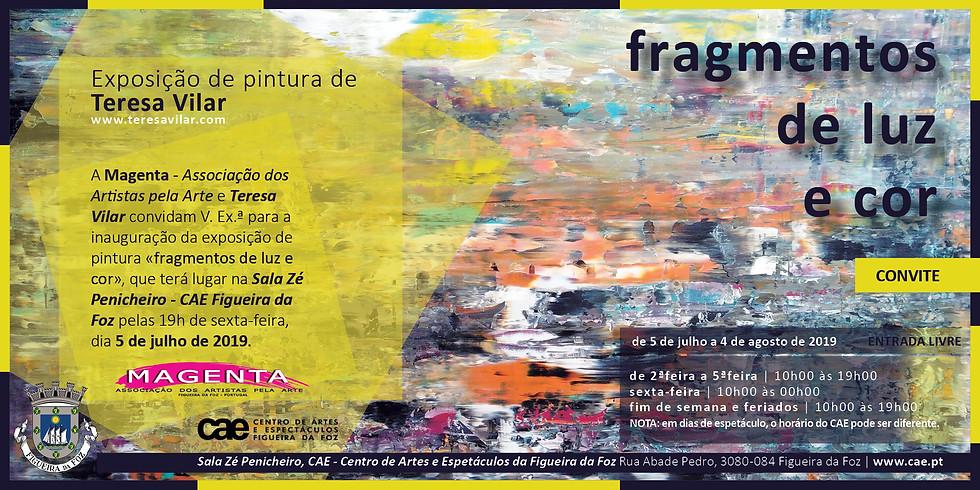 ATÉ 4 DE AGOSTO: EXPOSIÇÃO INDIVIDUAL «FRAGMENTOS DE LUZ E COR», FIGUEIRA DA FOZ