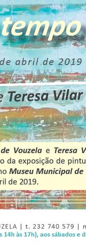 2019 | CONVITE | Exposição Individual em Vouzela | Design by Ana Vilar