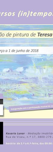 2018 | CARTAZ | Exposição Individual em Aveiro | Design by Ana Vilar