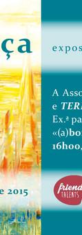 2015 | CONVITE | Exposição Individual em Leiria | Design by Ana Vilar